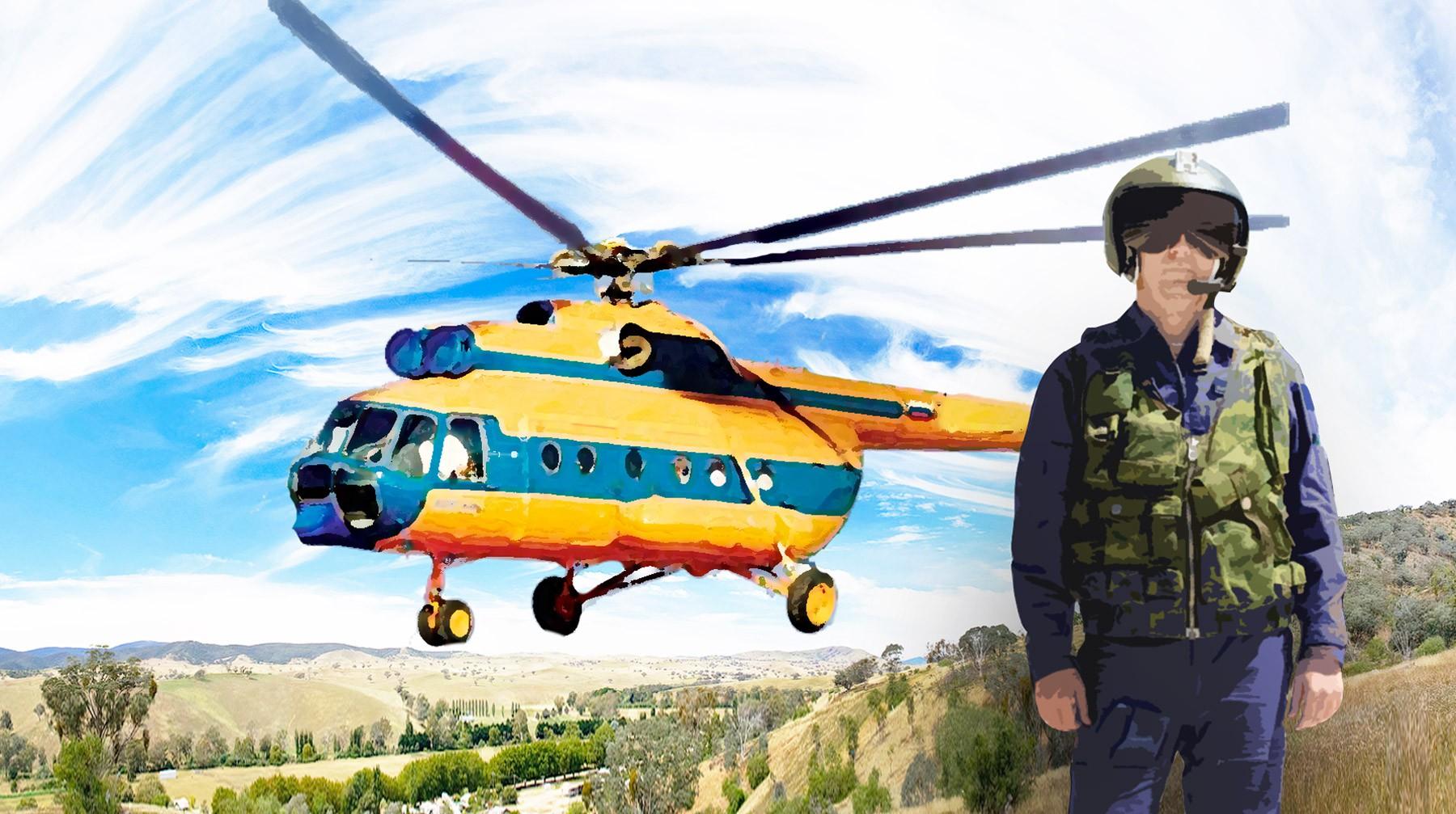 с днем авиации открытка с вертолетом мало кому